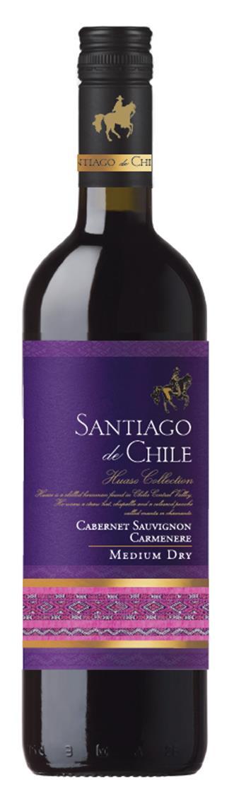 Santiago de Chile Cabernet-Carmenere 75cl