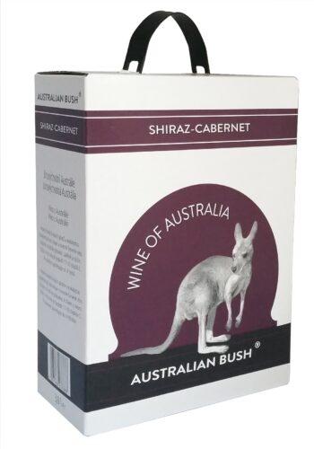 Australian Bush Shiraz-Cabernet 300cl BIB