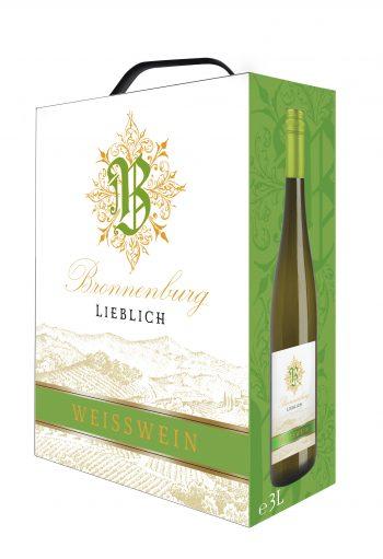 Bronnenburg Weisswein Lieblich 300 cl BIB