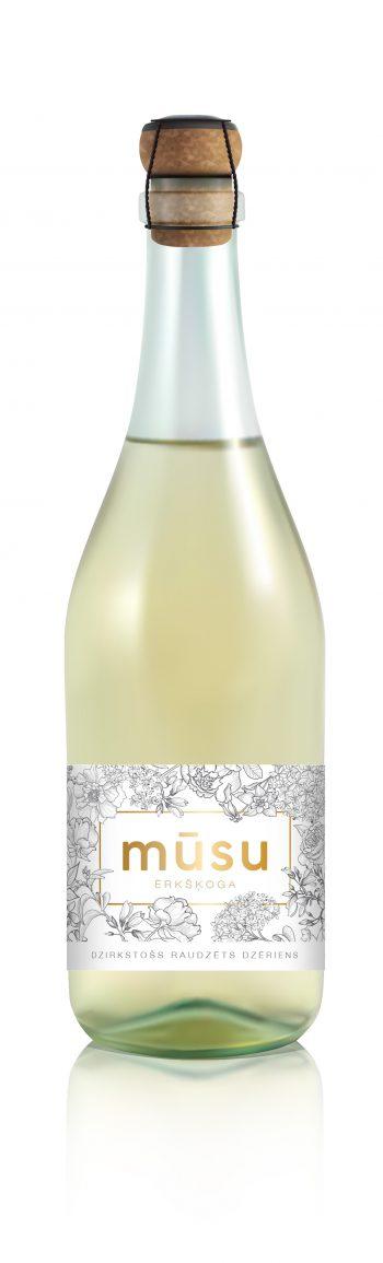 Musu Gooseberry Sparkling 75cl