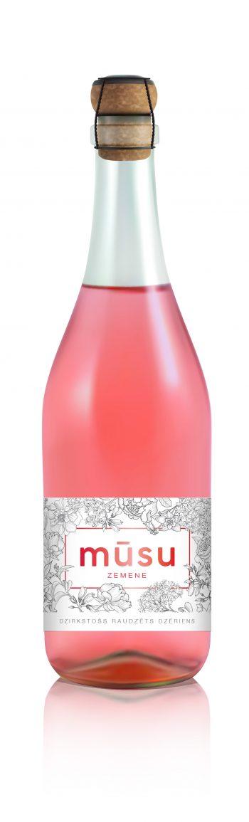Musu Strawberry Sparkling 75cl